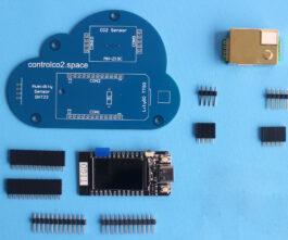 Control CO2 Bouwpakket<br/>(CO2 sensor)